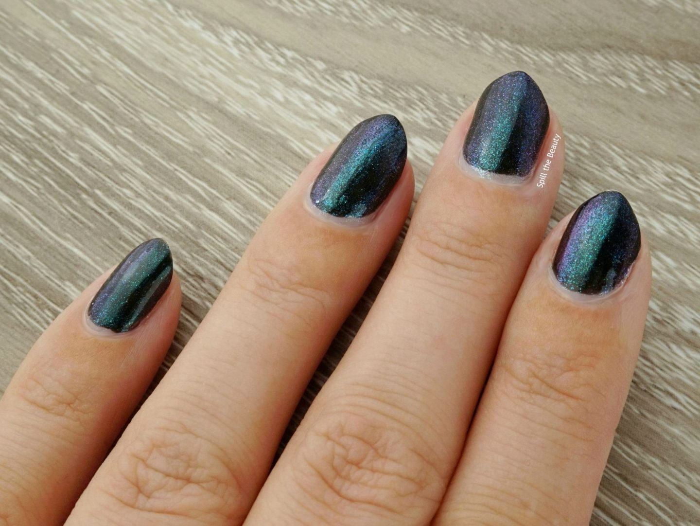 Sally Hansen Chrome Kit review swatches mermaid