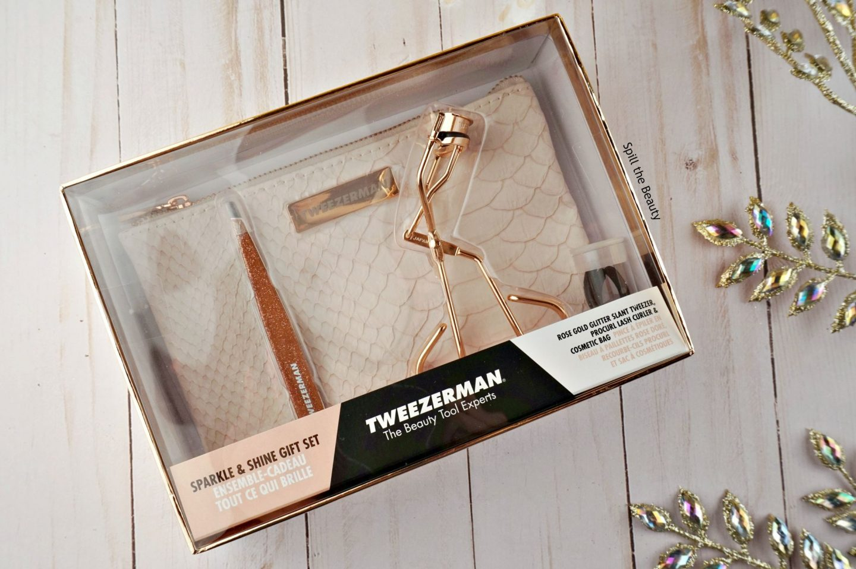 Tweezerman sparkle & gift shine set gift guide