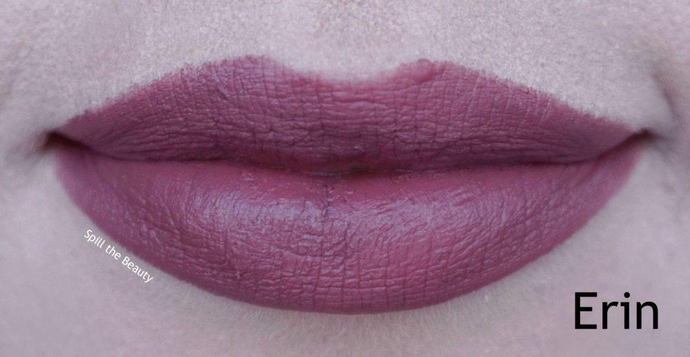 gigi hadid maybelline lipstick swatch erin comparison dupe