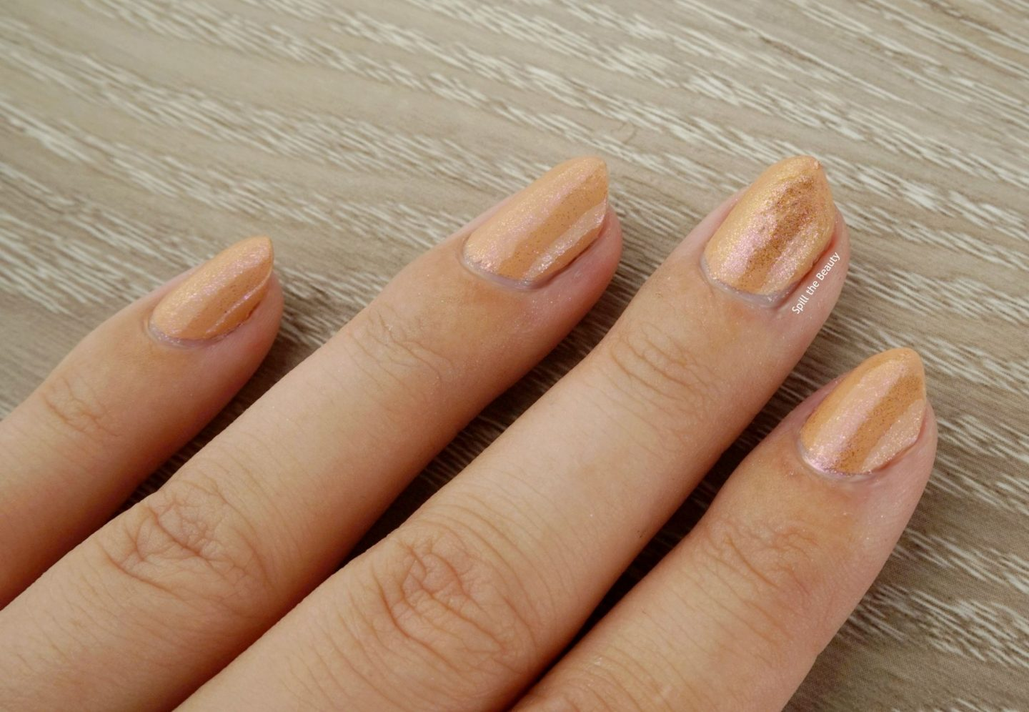 Sally Hansen Chrome Kit review swatches rose gold kit