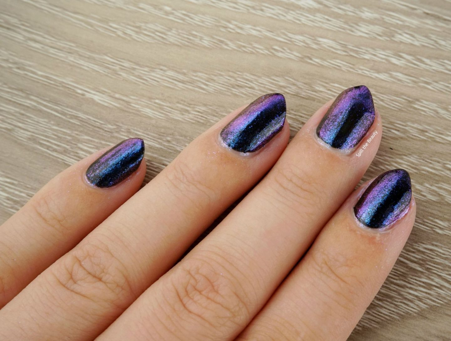 Sally Hansen Chrome Kit review swatches peacock kit
