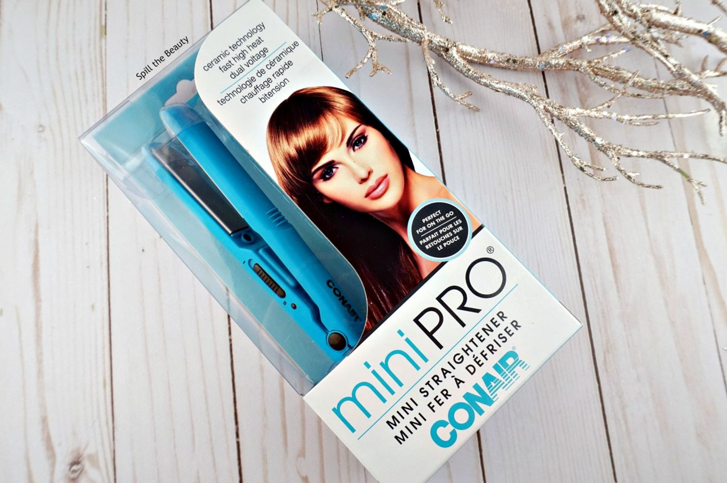 conair mini pro hair straightener
