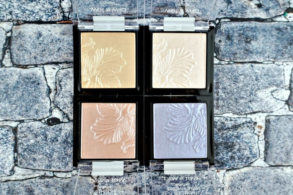 wet n wild megaglo highlighters review swatches botanic dream royal calyx golden flower crown blossom glow