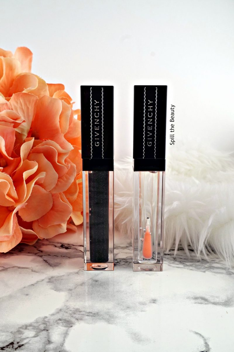 givenchy gloss interdit vinyl rose revelateur noir revelateur review swatches