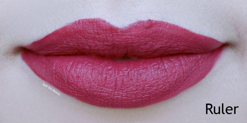 Lip Swatch Saturday Maybelline Matte Ink Ruler