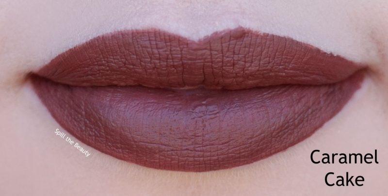 wet n wild 2018 megalast liquid catsuit liquid lipstick shades review swatches caramel cake