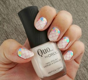 pastel mermaid nail art quo by orly platina