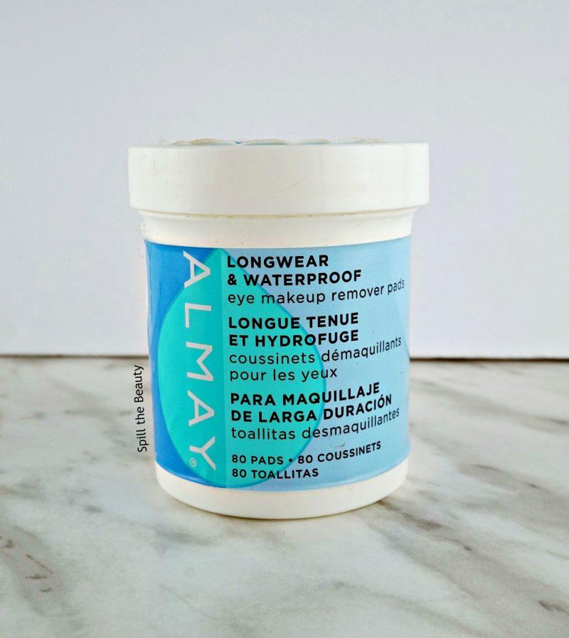 mini review almay longwear waterproof eye makeup remover pad