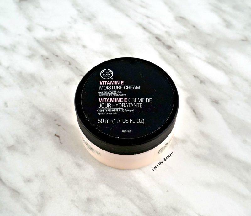 mini review the body shop vitamin e moisture cream