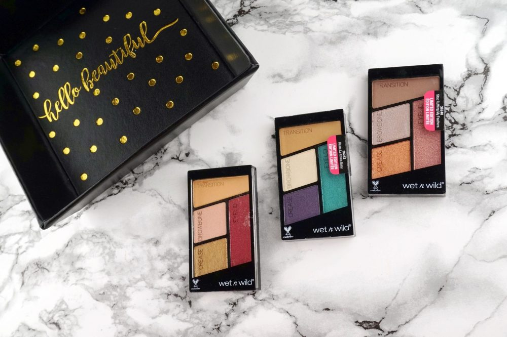 "Wet n Wild ""Flights of Fancy"" Eyeshadow Palettes – Review, Swatches & Looks"