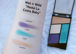 wet n wild flights of fancy eyeshadow review swatches hasta la costa baby