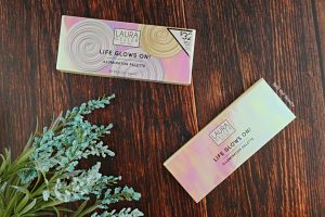 laura geller life glows on! illuminator palette review swatches