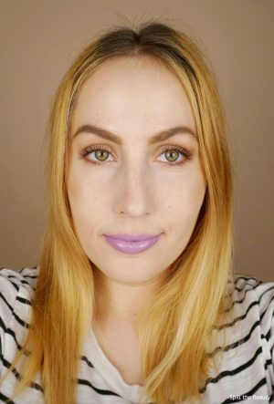 lip swatch Too Faced Melted Latex Liquified High Shine Lipstick Twilight Zone comparison dupe