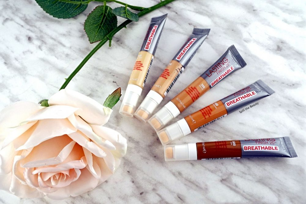 Rimmel London Lasting Finish 25 HR Breathable Concealer – Review, Swatches, Before & After