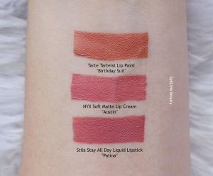 lip swatch nyx soft matte lip cream austin comparison dupe