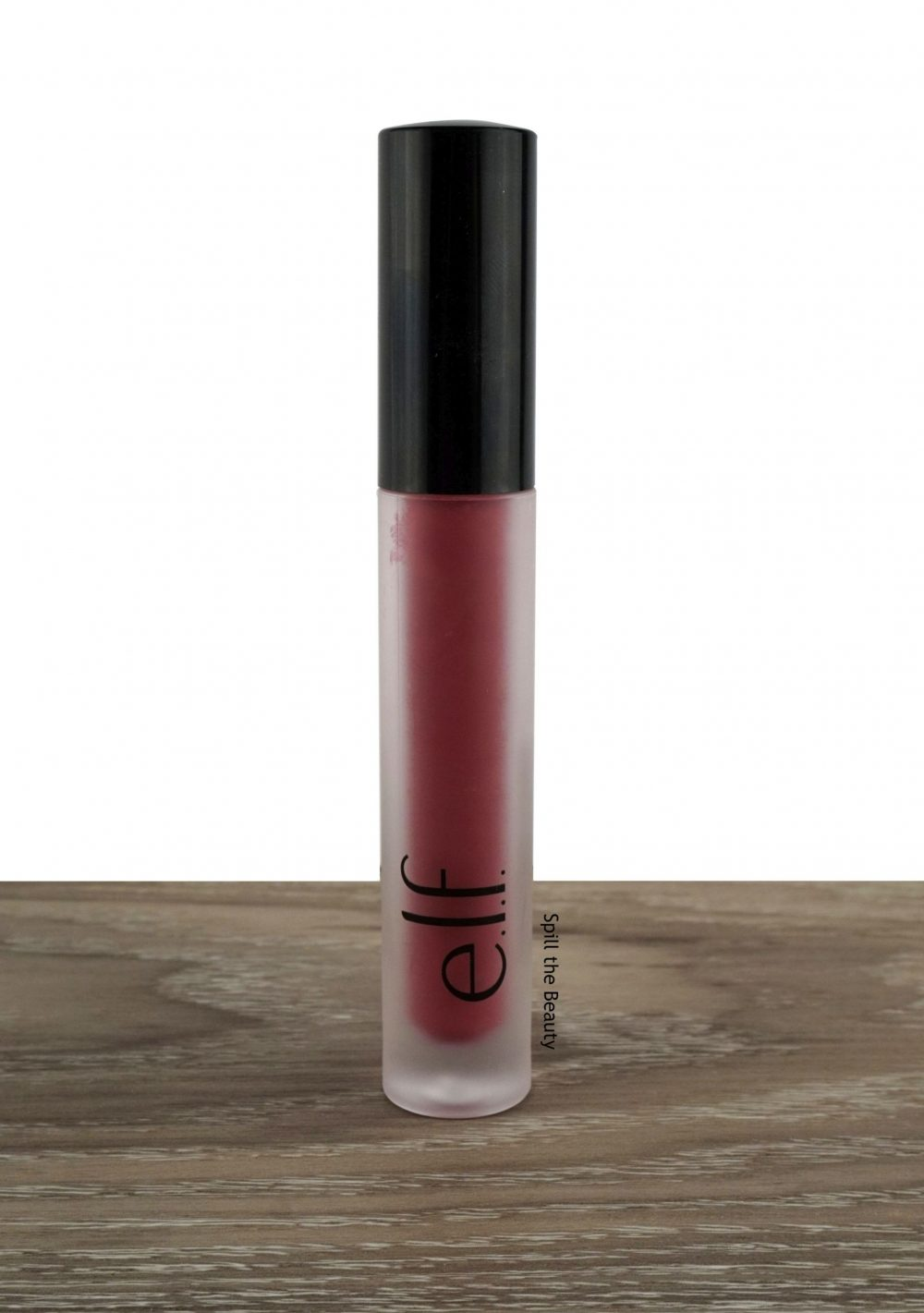 "Lip Swatch Saturday – e.l.f. Liquid Lipstick in ""Wine Tour"" + Mini Review"
