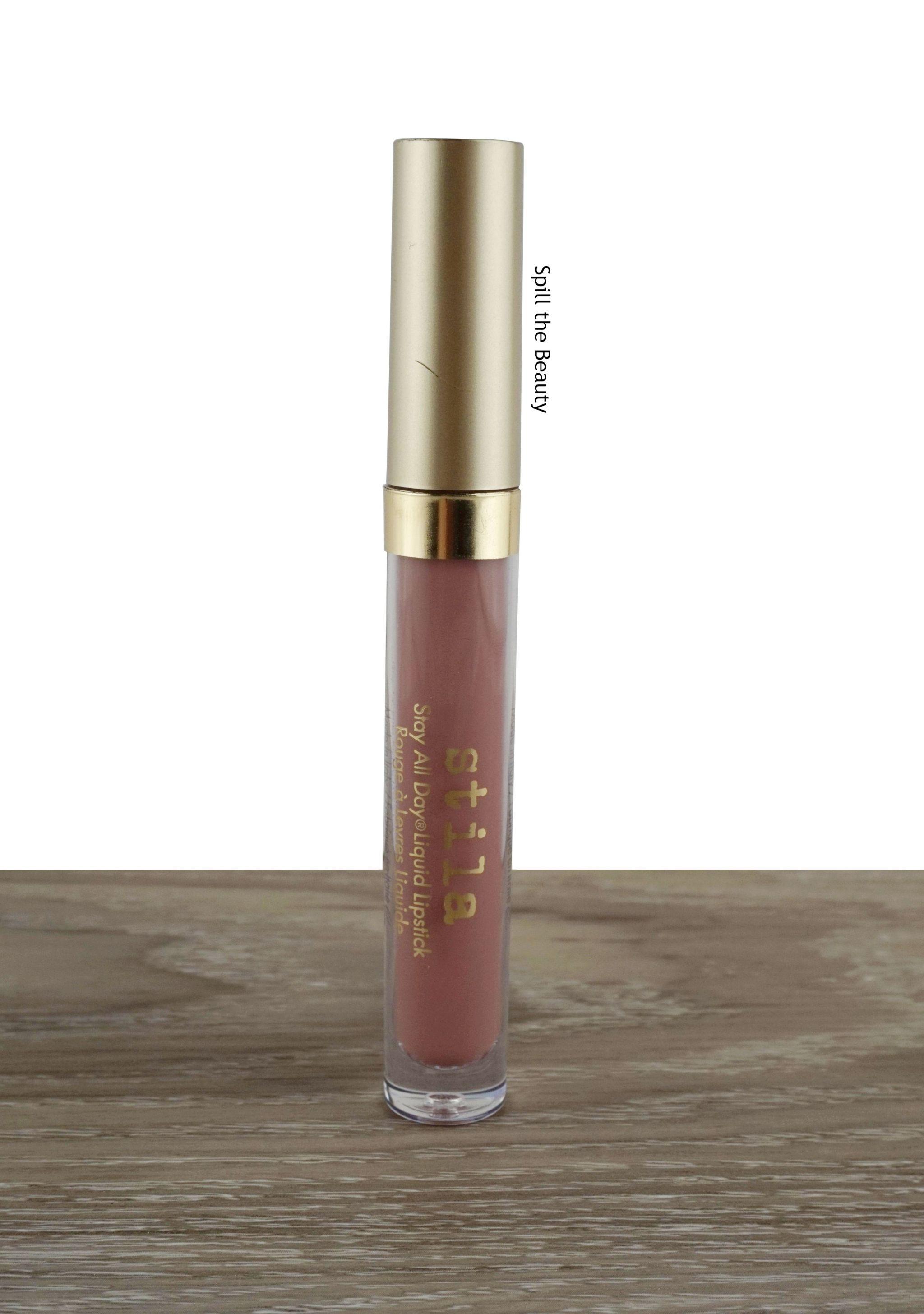 Lip Swatch Saturday Stila Dolce Vita Spill The Beauty
