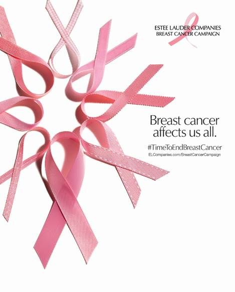 Estée Lauder Company's 2018 Breast Cancer Campaign Pink Ribbon Products #TimeToEndBreastCancer