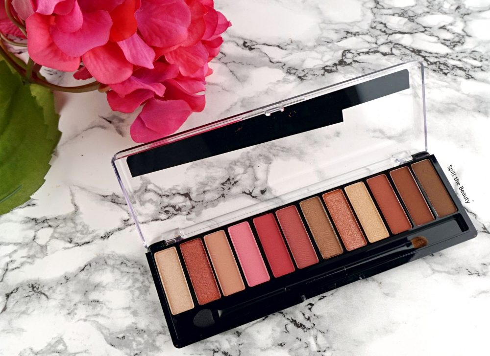 Rimmel London Magnif-Eyes Crimson Palette – Review, Swatches and 2 Looks