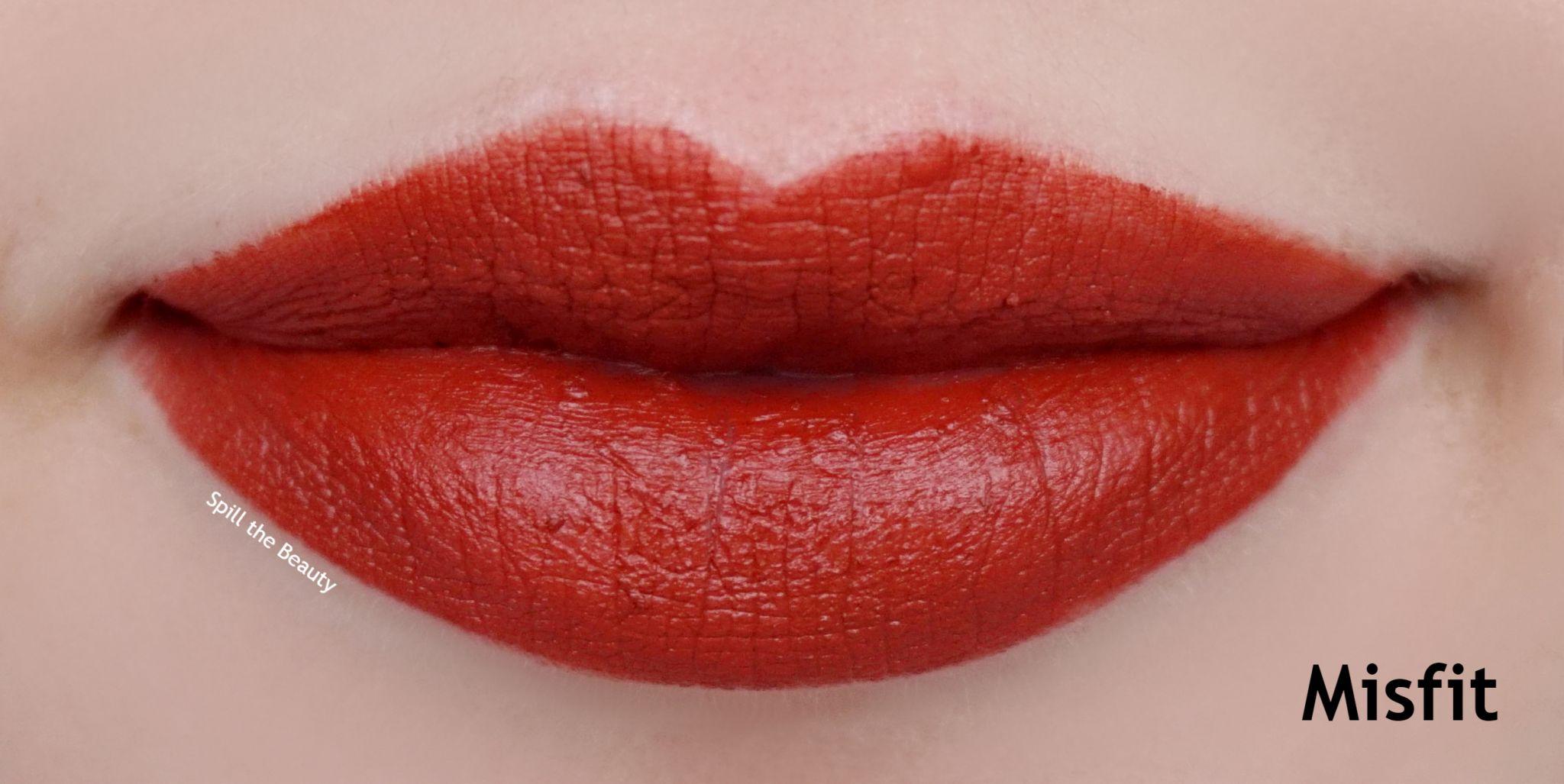 Lip Swatch Saturday Kat Von D Quot Misfit Quot Spill The Beauty