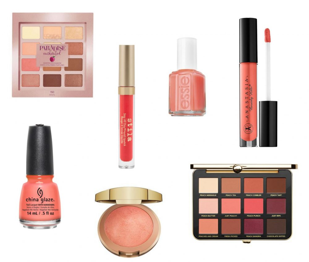 pantone colour of the year living coral makeup
