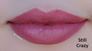 colourpop still crazy lux lipstick swatches comparison charlotte tilbury secret salma kat von d lolita