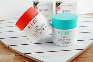 my clarins skincare re-boost re-charge