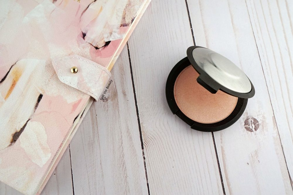 "BECCA Highlighter ""Rose Quartz"" – Review, Swatches and Look"