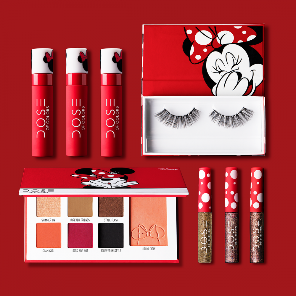 Disney's Minnie Mouse and Dose of Colors Launch New Collection