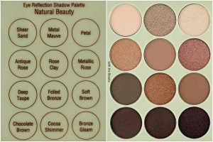 pixi beauty eye reflection shadow palette natural beauty reflex light review swatches