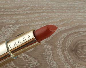 becca burgundy lipstick
