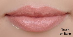 lipstick queen nothing but the nudes review swatches truth or bare