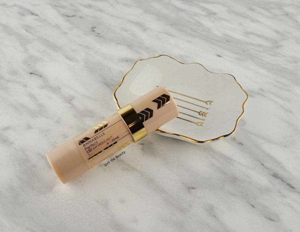 "Annabelle Perfect Cream Highlight ""Light Champagne"" – Review, Swatches and Look"