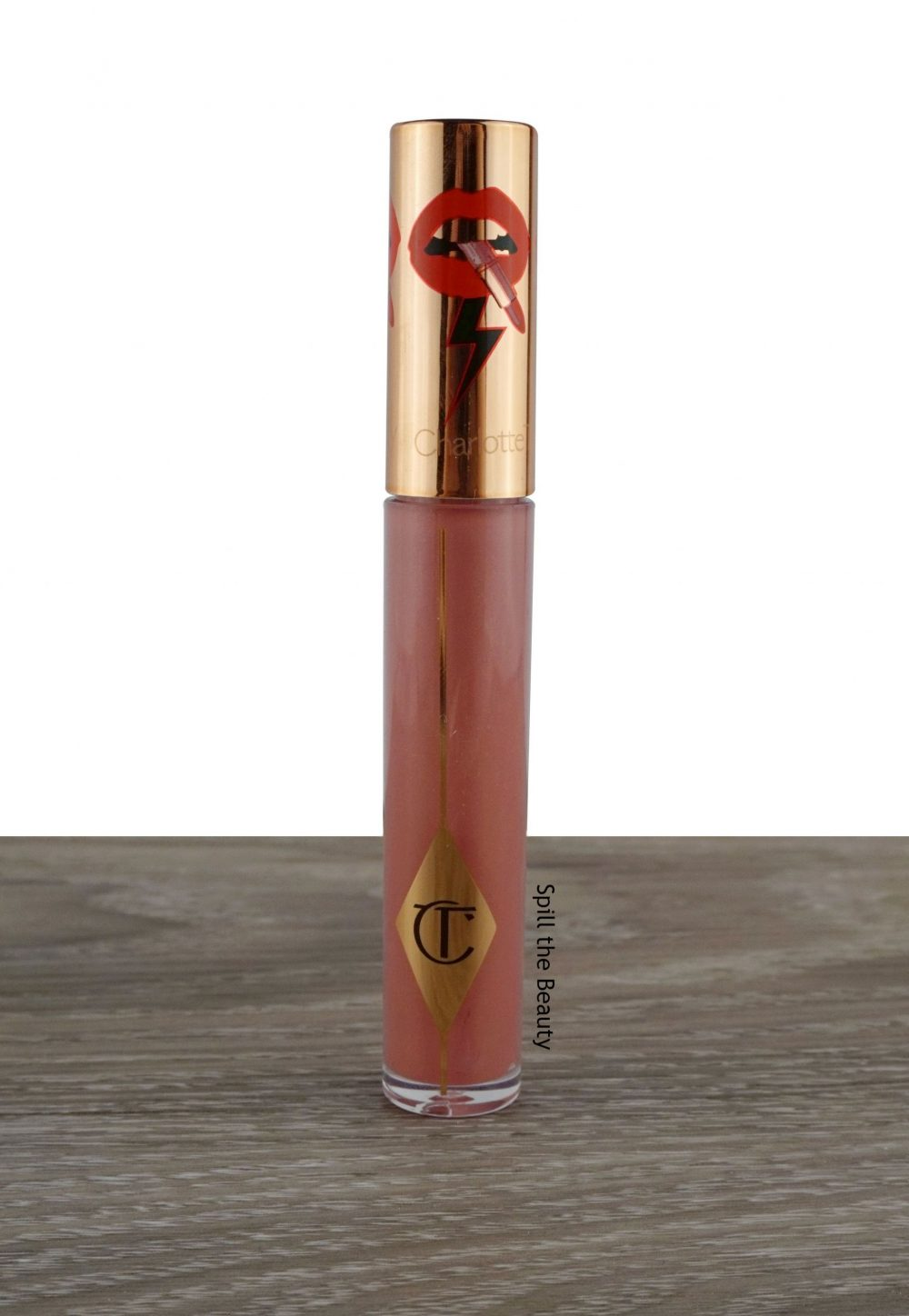 "Lip Swatch Sunday – Charlotte Tilbury ""Berry Nude"""
