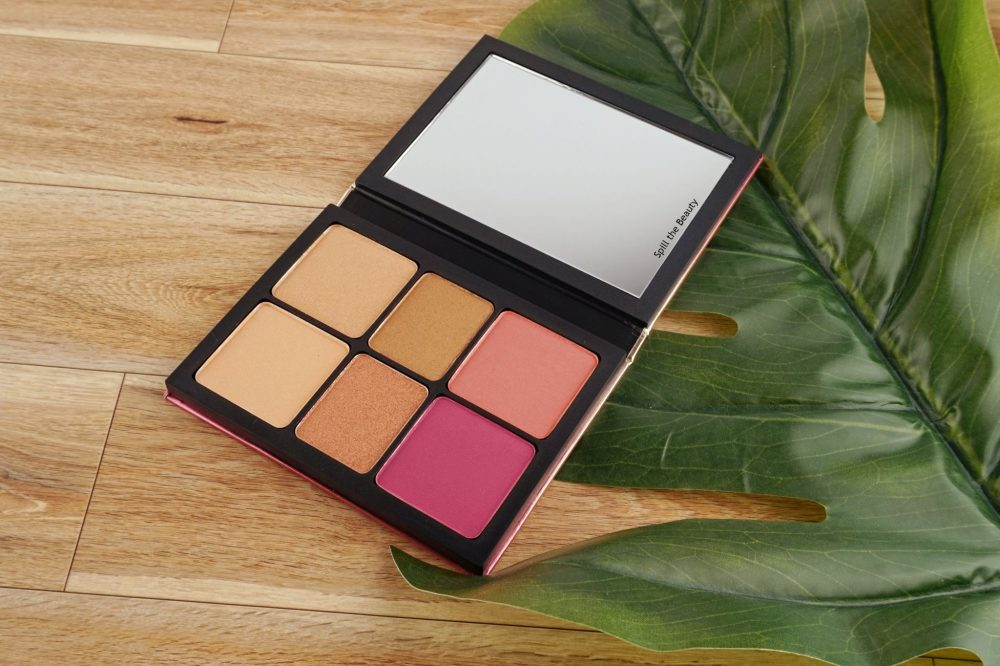"Smashbox ""Cali Kissed"" Highlight + Blush Palette – Review, Swatches and Look"