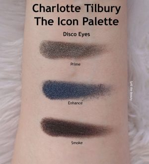 charlotte tilbury the icon palette review swatches looks disco eyes