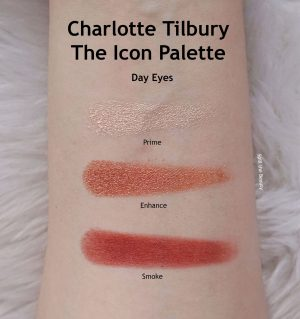 charlotte tilbury the icon palette review swatches looks day eyes