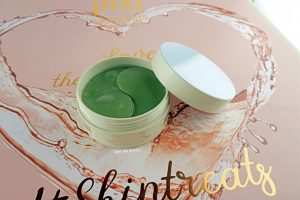 pixi beauty skincare detoxifeye eye patches