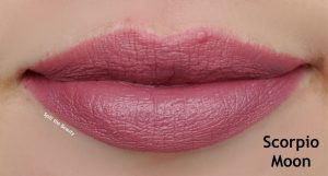 colourpop scorpio moon lip swatch