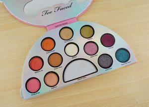 too faced lifes a festival palette bright makeup