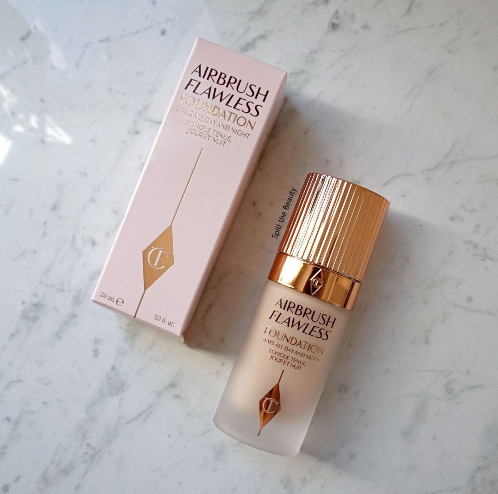 Charlotte Tilbury Airbrush Flawless Foundation – Review, Swatches, Before and After