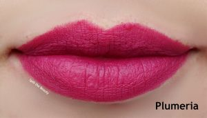 anastasia matte lipstick plumeria swatch