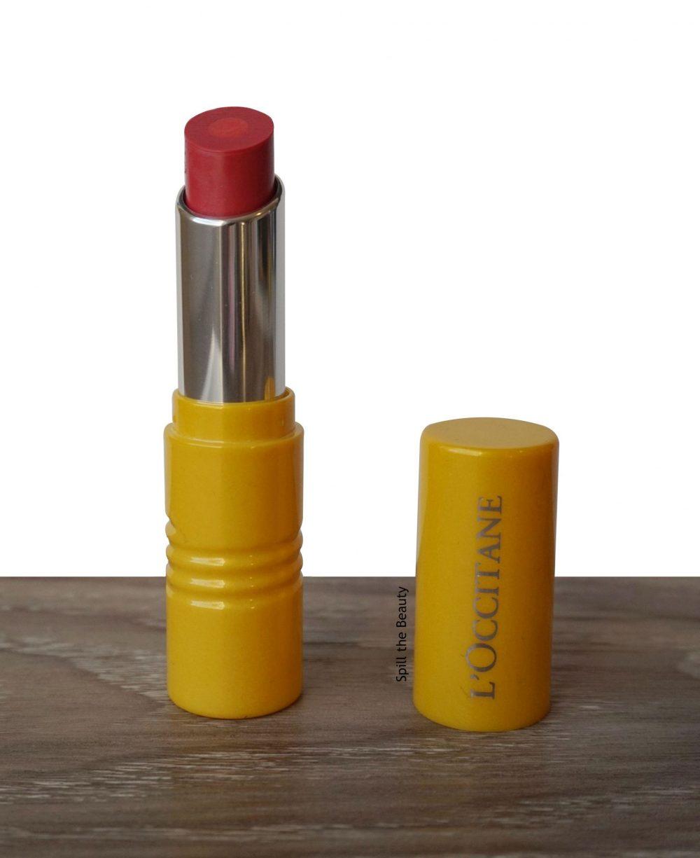 """Lip Swatch Sunday – L'Occitane en Provence Fruity Lipstick """"Provence Sunset"""""""