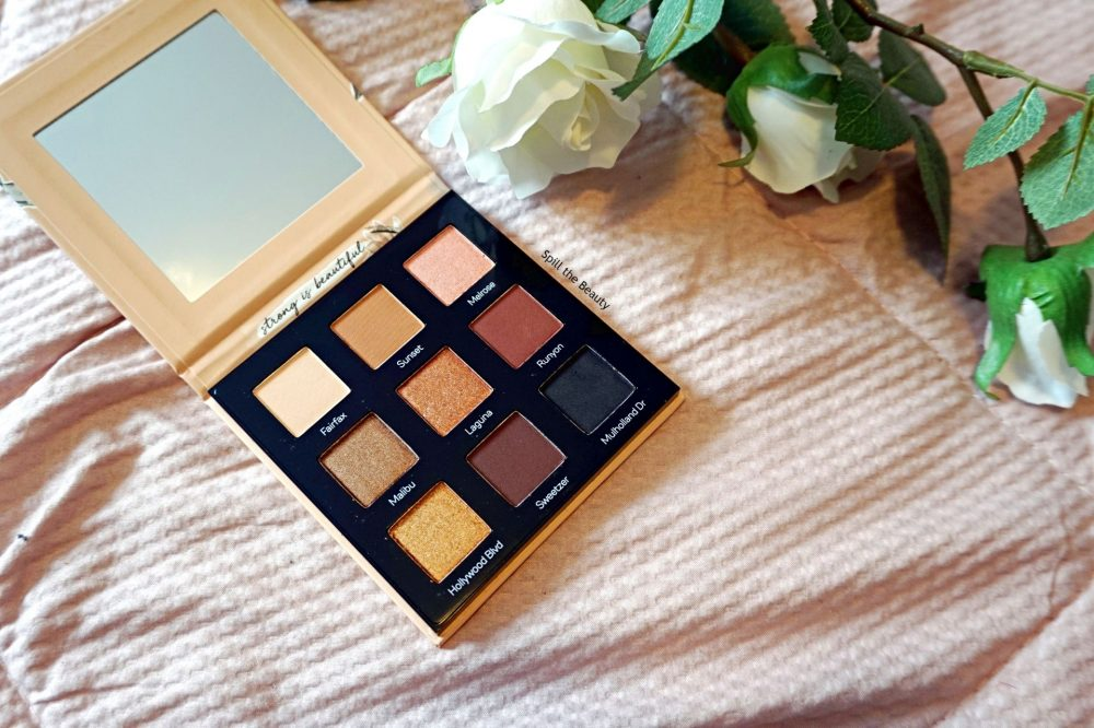 "Catrice X Eman ""Bronzed AF"" Eyeshadow Palette – Review, Swatches and Look"