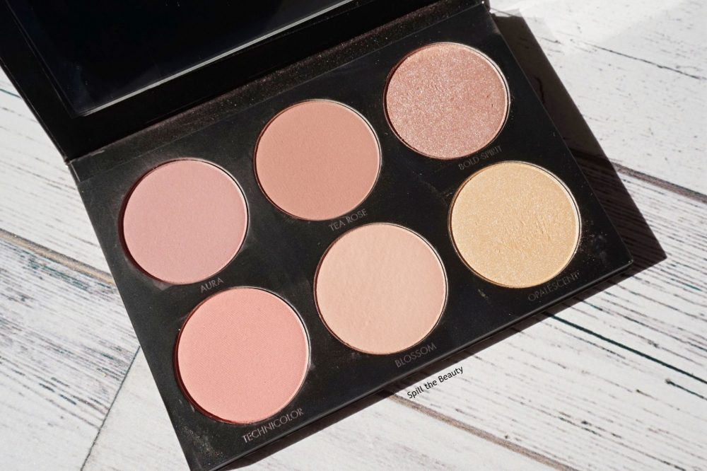 shop my stash lorac shine bright color source and light source cheek palette