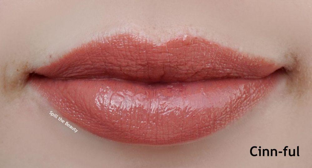 Laura Mercier cinnful lip swatch