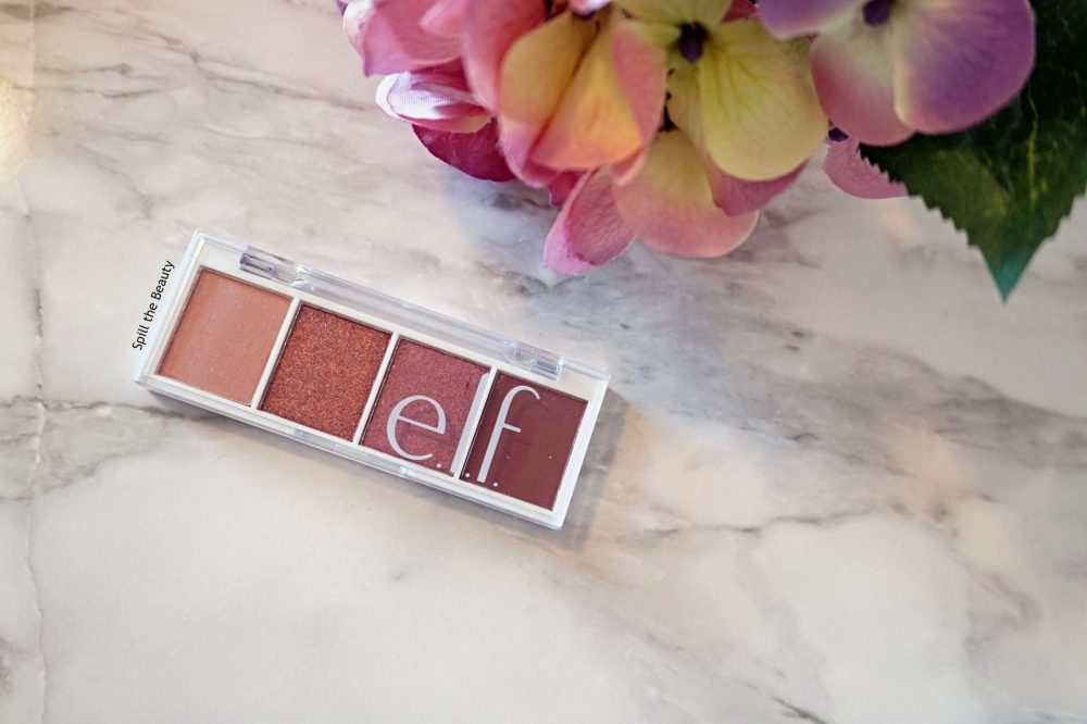 elf berry bad eyeshadow review swatches